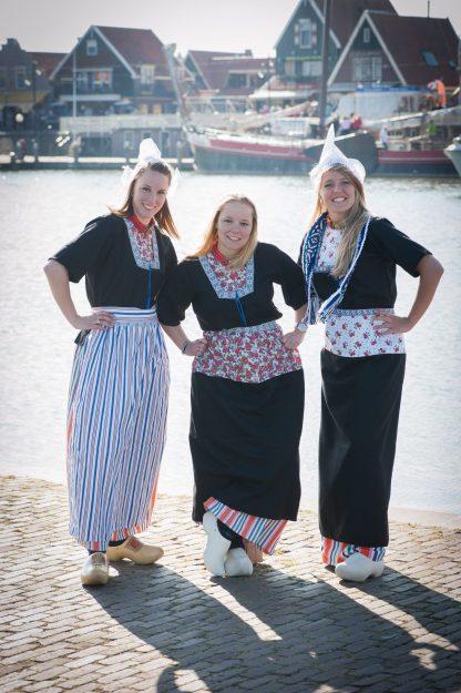 Traditioneel Hollandse kostuums